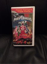 The Power Rangers in 3-D VHS in Cherry Point, North Carolina