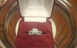 14k White Gold Wedding Set in Fort Campbell, Kentucky