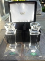 Crystal candlestick holders in Kingwood, Texas