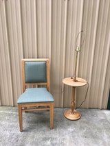 Green accent/desk/vanity chair in Fort Campbell, Kentucky