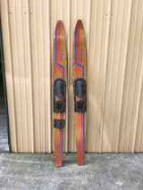 Vintage waterskis in Fort Campbell, Kentucky