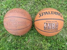 Two Basketballs in Fort Campbell, Kentucky