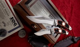 SOG KNIFE: R. LEE ERMEY LIMITED EDITION SERIES in Camp Pendleton, California