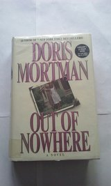 Out of Nowhere Doris Mortman copyright 1998 hardcover in Naperville, Illinois