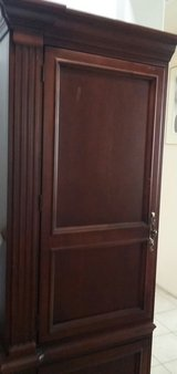 walnut solid wood cabinet in Lake Elsinore, California