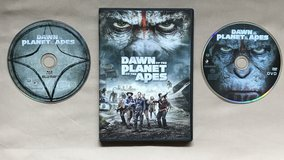 Dawn of the Planet of the Apes DVD in Okinawa, Japan
