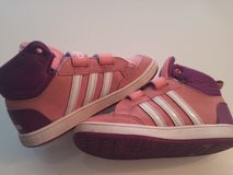 PINK ADIDAS SNEAKERS, SIZE EU 26 OR US 10C in Ramstein, Germany