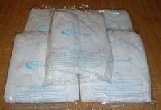 WHITE POLY-COVERALL X 5 ( NEW ) in Lakenheath, UK
