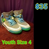 Youth Jordans size 4 in Fort Rucker, Alabama