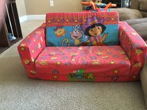 Dora Couch that folds out in Camp Lejeune, North Carolina