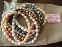 NIP- Freshwater Pearl 10 pc bracelet set in Columbia, South Carolina