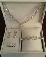 NIB- Freshwater pearl/diamond 4 pc set in Columbia, South Carolina