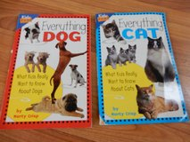 Childrens scholastic books - set of 2. Everything Dog, and Everything Cat in Naperville, Illinois