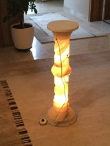 Marble flower pot stand with light. in Wiesbaden, GE