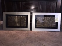 2X MODERN FRAMED PICTURES in Las Vegas, Nevada
