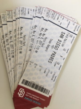 Want to go to the PADRES game tonight? Monday May 8th, 2017 7:10pm in Oceanside, California