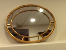 Oval mirror gold about 3 ft tall in Shorewood, Illinois