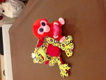 Ty beanie baby or muticolor frog in Batavia, Illinois