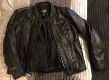 HD FXRG Leather Jacket in Camp Pendleton, California