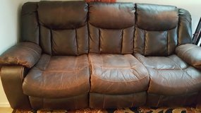 Leather Couch in Fort Lewis, Washington