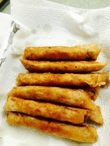 Lumpia (pilipino food) in Fort Irwin, California