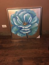 New huge flower picture with frame in Bellaire, Texas