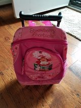 **REDUCED** Girls Strawberry Shortcake Roller Backpack in Clarksville, Tennessee