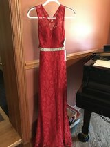New Formal long red dress -NWT in Naperville, Illinois
