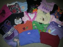 LOT of Girls size 4 / 4T Long Sleeve Shirts in Bolingbrook, Illinois