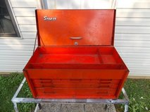 Vintage Snap-on 6 Drawer top box and New Britain Bottom Box in Fort Campbell, Kentucky