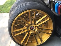 "22"" custom Bmw wheels and tires in Hemet, California"