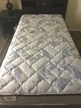 Twin Bed with Matching Headboard, Dresser, Nightstand and new Mattress! $200 in Tinker AFB, Oklahoma