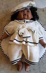 Vintage porcelain baby doll in Kingwood, Texas