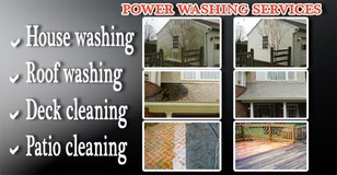 PRESSURE WASHING FOR YOUR HOME &FREE ESTIMATE in Ramstein, Germany