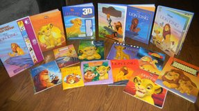 16 Disney Lion King Story Book 3D Lot Mainly Hardcover Hardback in Houston, Texas