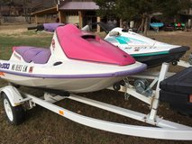 Jet Skis / Wave Runners and Trailers in Fort Leonard Wood, Missouri