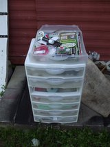 PLASTIC LIDDED STORAGE UNIT (PICKUP) in Perry, Georgia