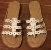 Sonoma white sandals size 8 in Yuma, Arizona