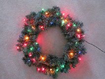 Christmas Wreath in Elgin, Illinois