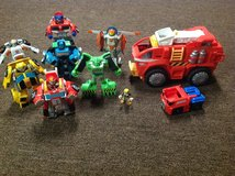 Rescue bots lot of toys in Naperville, Illinois