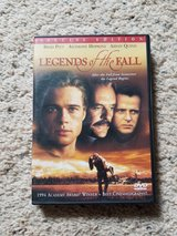 Legends of the Fall DVD in Camp Lejeune, North Carolina