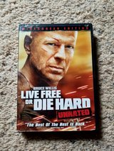 Live Free or Die Hard DVD in Camp Lejeune, North Carolina