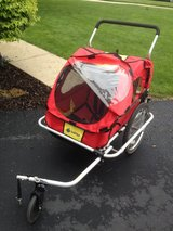 Instep Double Bicycle Trailer & Stroller in Naperville, Illinois