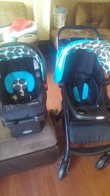 brand new car seat with stroller in Byron, Georgia