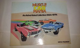 Muscle Car Mania Advertising from 60s-70s c1981 in St. Charles, Illinois