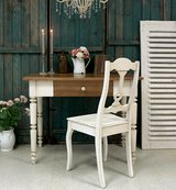 Charming French Antique Table And Amazing Chair Rare Shabby Chic Set! in Ramstein, Germany