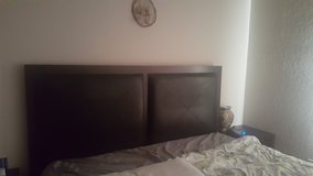California King bedroom set w/mattress and boxspring in Travis AFB, California