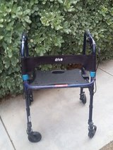 wide walker w/bench seat in Temecula, California