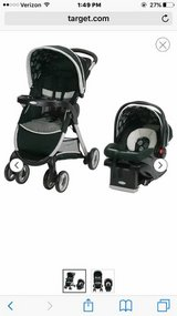 Graco stroller and car seat in Travis AFB, California