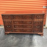 Mahogany Craved Sideboard in Cherry Point, North Carolina